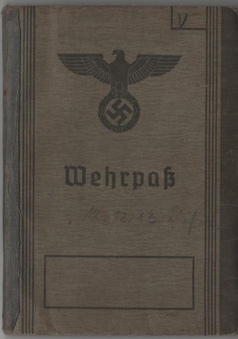 Wehrpass - Soldbuch