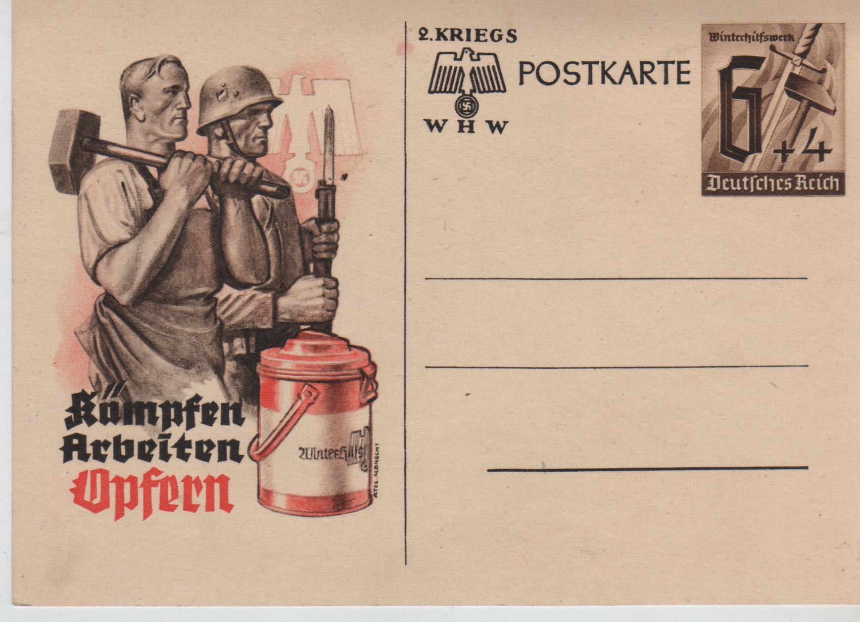 WHW - Postkarte