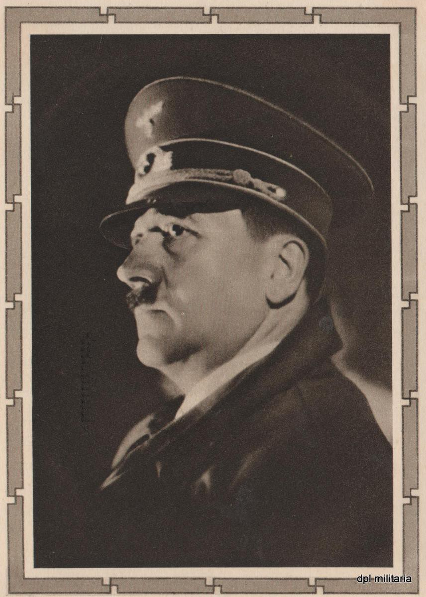 Adolf Hitler Propagandapostkarte - Reichsminister
