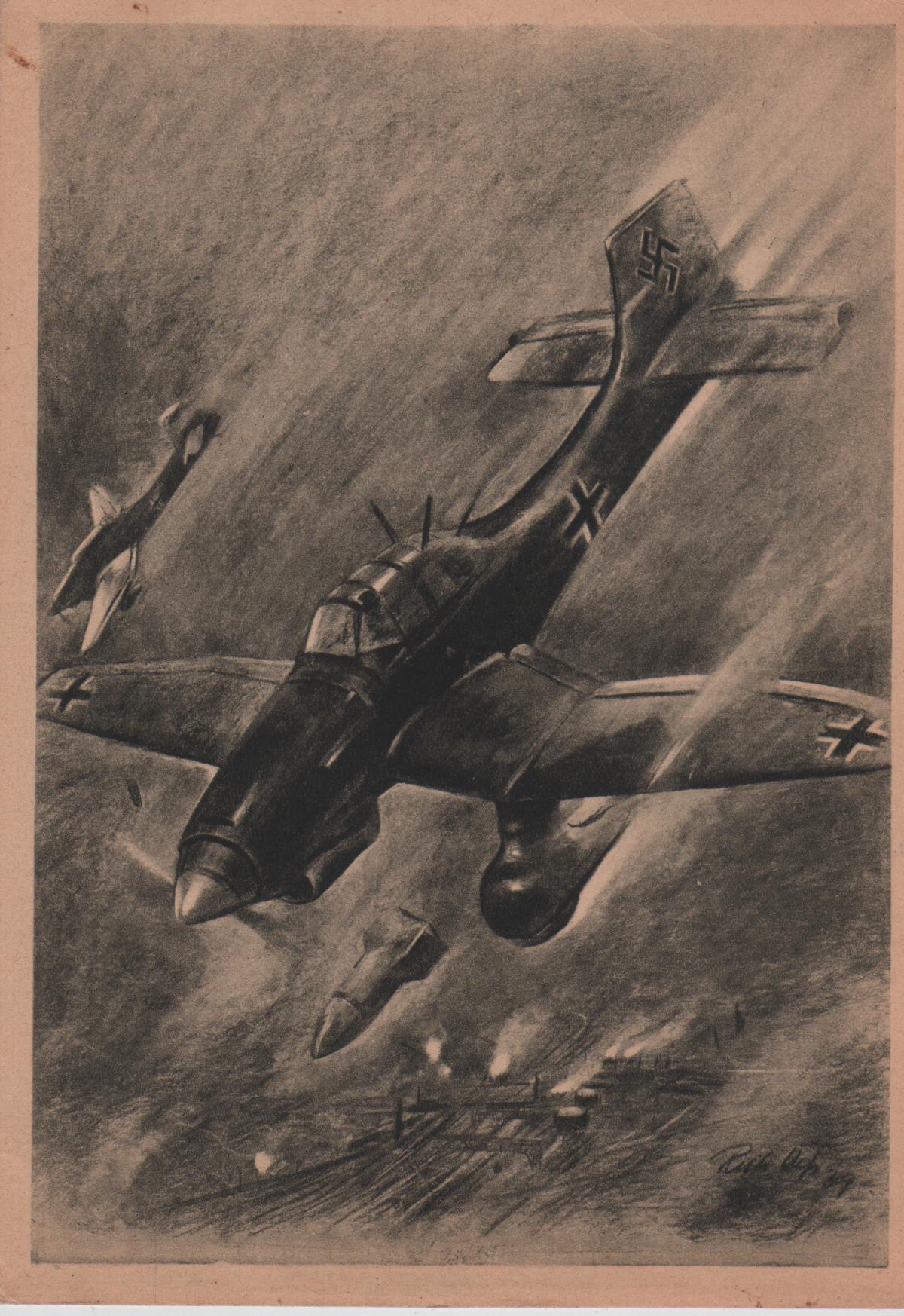 Luftwaffe - Deutsche Flugzeuge der Luftwaffe
